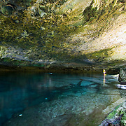 Cenote KantunChi.Riviera Maya, Quintana Roo..Mexico.