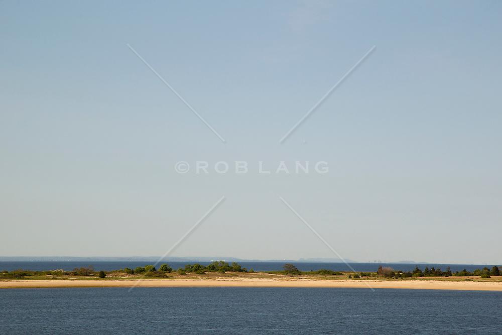 Long Island sand bar in Port Jefferson