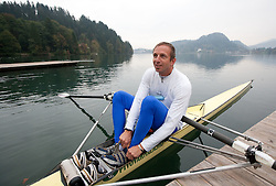 Jani Klemencic during media day of Slovenian National rowing team before World Championships in New Zealand 2010 on October 14, 2010 in Mala Zaka, Bled, Slovenia. (Photo by Vid Ponikvar / Sportida)