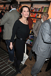 The DOWAGER COUNTESS SONDES at a party to celebrate the publication of Sandra Howard's new book - Ex-Wives held at Daunt Books, 83 Marylebone High Street, London W1 on 30th April 2012.