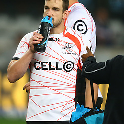DURBAN, SOUTH AFRICA - JULY 15: Keegan Daniel of the Cell C Sharks during the Super Rugby match between the Cell C Sharks and Sunwolves at Growthpoint Kings Park on July 15, 2016 in Durban, South Africa. (Photo by Steve Haag/Gallo Images)