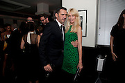 ROLAND MOURET; CLAUDIA SCHIFFER;, Dinner hosted by editor of British Vogue, Alexandra Shulman in association with Net-A-Porter.com in honour of 25 years of London Fashion Week and Nick Knight. Caprice. London.  September 21, 2009