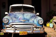 Car in Artemisa, Artemisa Province, Cuba.