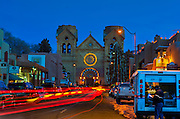 Cathedral Basilica of St. Francis of Assisi, Santa Fe, NM.