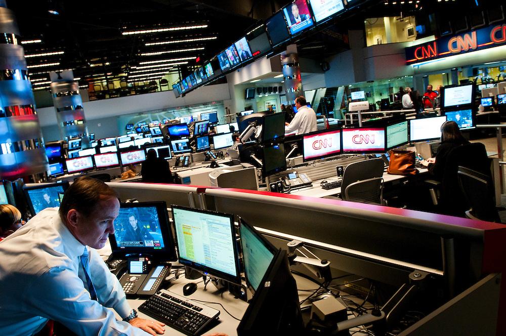 CNN Headquarters in Atlanta