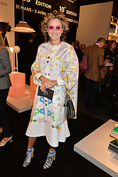 REBECCA KORNER at the PAD London 2015 VIP evening held in the PAD Pavilion, Berkeley Square, London on 12th October 2015.