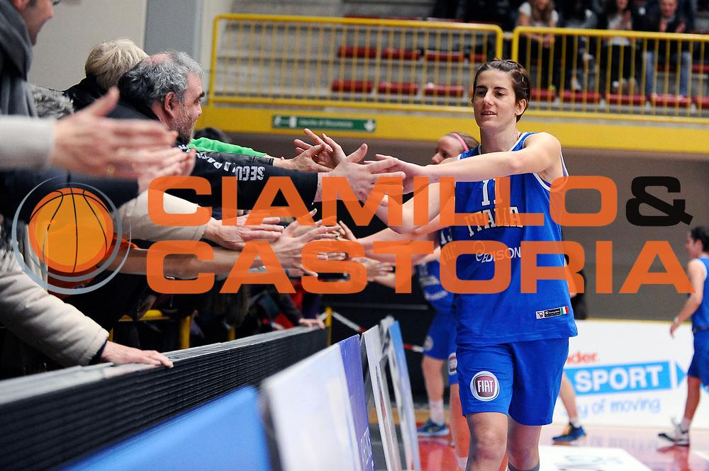DESCRIZIONE : Schio Torneo Famila cup Italia Romania Italy Romania<br /> GIOCATORE : Raffaella Masciadri<br /> CATEGORIA : postgame<br /> EVENTO : Schio Torneo Famila cup Italia Romania Italy Romania<br /> GARA : Italia Romania Italy Romania<br /> DATA : 29/12/2014<br /> SPORT : Pallacanestro<br /> AUTORE : Agenzia Ciamillo-Castoria/Max.Ceretti<br /> Galleria: Fip Nazionali 2014<br /> Fotonotizia: Schio Torneo Famila cup Italia Romania Italy Romania<br /> Predefinita :