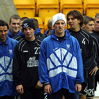 St Johnstone training...07.09.01<br />