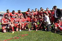 Presentation du Trophee aux Supporters  - 09.05.2015 - Toulon / Castres  - 24eme journee de Top 14 <br />
