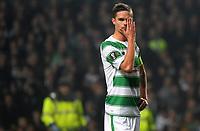 05/11/15 UEFA EUROPA LEAGUE GROUP STAGE<br /> CELTIC v MOLDE FK<br /> CELTIC PARK - GLASGOW<br /> Celtic's Mikael Lustig