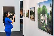 The work of John Stark. London Art Fair opens at the Business Design Centre, Islington, London.