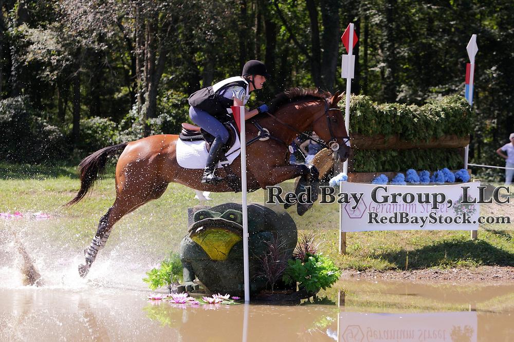 Selena O'Hanlon and Colombo at the 2010 Richland Park Horse Trials held in Richland, Michigan.