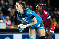 Varagic Alja of RK Krim Mercator during handball match between RK Krim Mercator and Brest Bretagne Handball in 2nd main round of Women's DELO EHF Champions League 2019/20, on February 2, 2020 in Kodeljevo, Ljubljana,  Slovenia. Photo Grega Valancic / Sportida