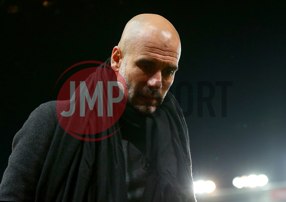 Manchester City manager Pep Guardiola - Mandatory by-line: Robbie Stephenson/JMP - 12/03/2018 - FOOTBALL - Bet365 Stadium - Stoke-on-Trent, England - Stoke City v Manchester City - Premier League