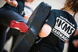 IKMS Pre Grading Workshop October 2012. The Institute of Krav Maga Scotland (IKMS) held a Pre Grading Krav Maga Workshop at St Modans High School, Stirling. The KMG National Krav Maga Grading will take place on October 27th at the same venue..©Michael Schofield.