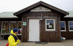 05-07-2014 NED: Iceland Diabetes Challenge dag 1, Landmannalaugar <br /> Vandaag ging de challenge van start. Met een bus gingen we van Vogar naar Landmannalaugar en zagen we de eerste tekenen van het prachtige landschap van IJsland / Sasja
