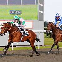 The Corsican and Fergus Sweeney winning the 6.10 race