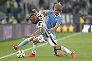 © Filippo Alfero<br /> Juventus-Lazio, Serie A 2014/2015<br /> Torino, 18/04/2015<br /> sport calcio<br /> Nella foto: