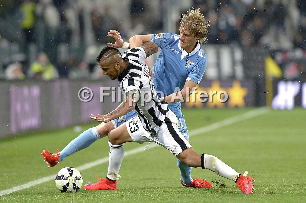 &copy; Filippo Alfero<br /> Juventus-Lazio, Serie A 2014/2015<br /> Torino, 18/04/2015<br /> sport calcio<br /> Nella foto: