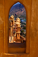 Amber Fort in jaipur in rajasthan state in india