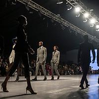 Presentation de la collection de Deji Eniola lors de la Lagos Fashion and Design Week 2016