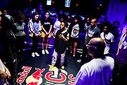 Latasha Barnes during Red Bull BC One Houston TX May 17, 2019