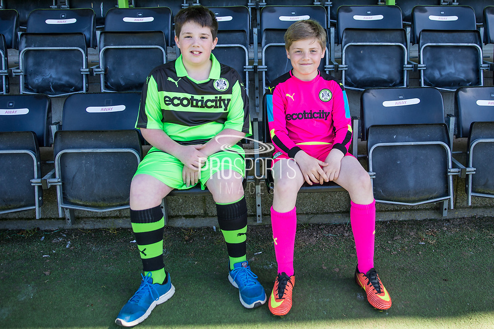 FGR mascots during the Vanarama National League match between Forest Green Rovers and Maidstone United at the New Lawn, Forest Green, United Kingdom on 22 April 2017. Photo by Shane Healey.
