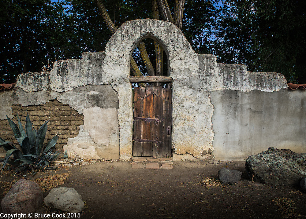 Gate at Mission San Miguel