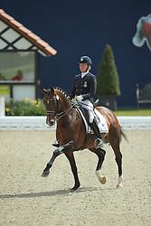 Mathisen Rose, (SWE), Zuidenwind 1187<br /> Qualification Grand Prix Kur<br /> Horses & Dreams meets Denmark - Hagen 2016<br /> © Hippo Foto - Stefan Lafrentz