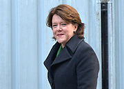 © Licensed to London News Pictures. 05/02/2013. Westminster, UK Culture Secretary.Maria Miller. Cabinet Ministers arrive for the weekly Cabinet meeting on 5th February 2013. Photo credit : Stephen Simpson/LNP