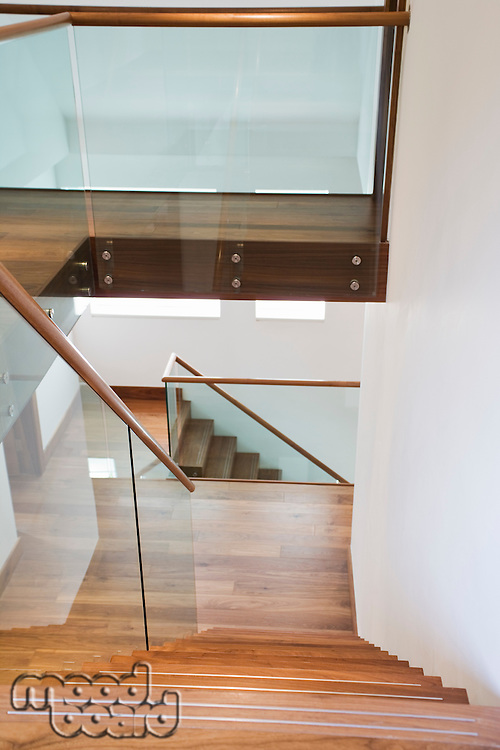 Staircase in house interior