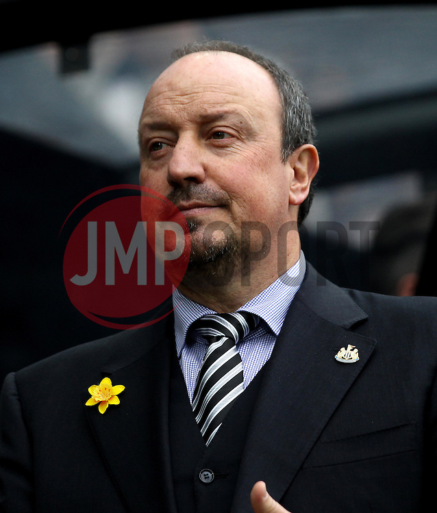 Newcastle United Manager Rafa Benitez - Mandatory byline: Robbie Stephenson/JMP - 20/03/2016 - FOOTBALL - ST James Park - Newcastle, England - Newcastle United v Sunderland - Barclays Premier League