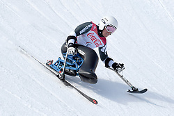 PETERS Corey LW12-1 NZL competing in the Para Alpine Skiing Downhill at the PyeongChang2018 Winter Paralympic Games, South Korea
