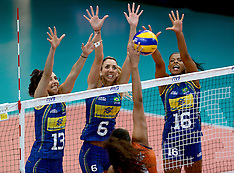 20141002 ITA: World Championship Volleyball Nederland - Brazilie, Verona
