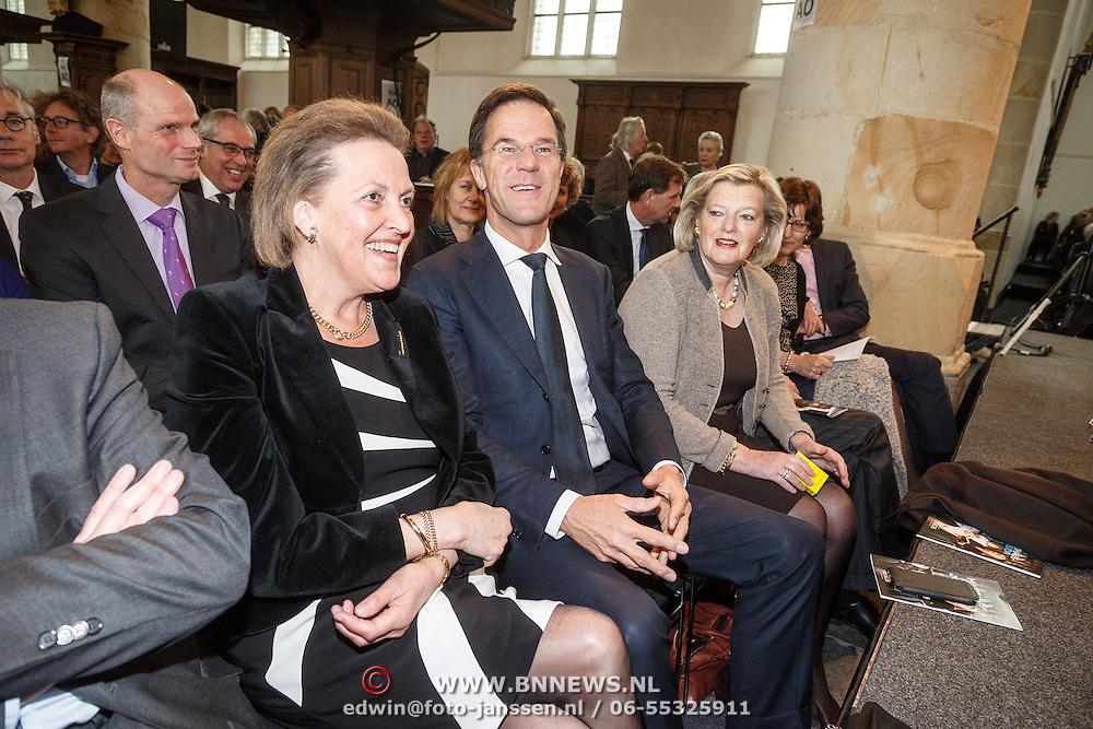 NLD/Naarden/20160325 - Mattheus Passion 2016 Naarden, .........., Jan Peter Balkenende en Ankie Broekers-Knol