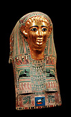 Egypt, 27th Dynasty, Coffin, Nespamal, Nut, 500 BC