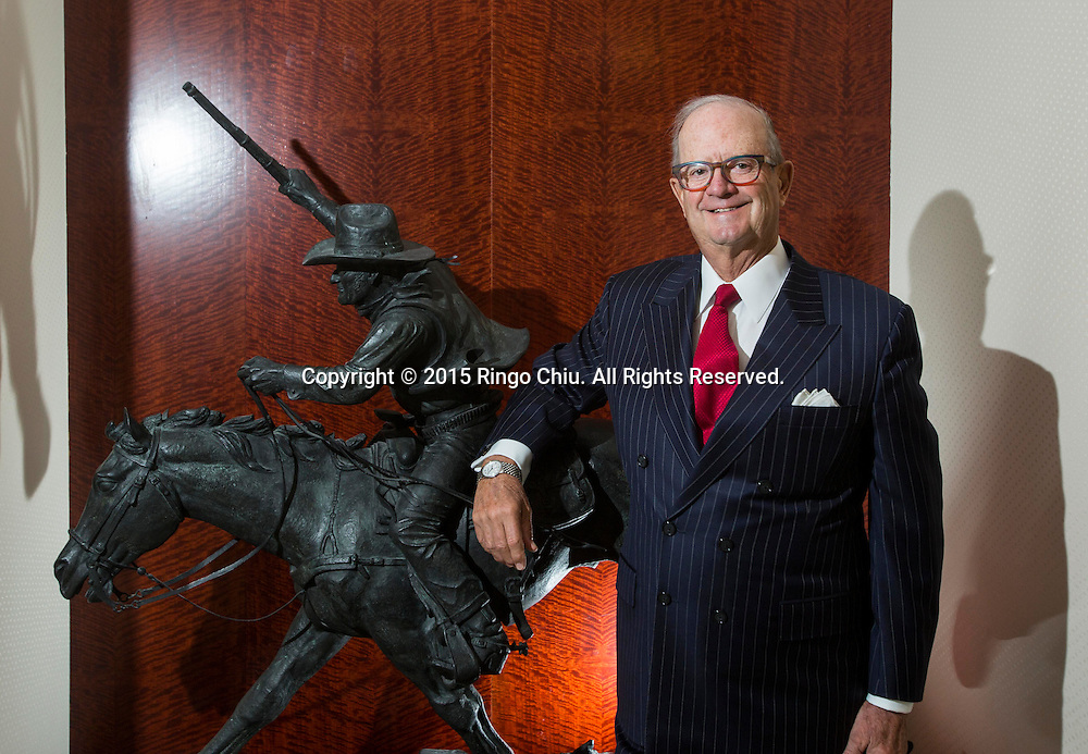 John Cushman III, Co-Chairman of the Board at Cushman &amp; Wakefield.<br /> (Photo by Ringo Chiu/PHOTOFORMULA.com)