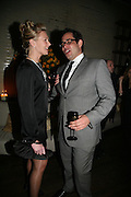 KELLIE EDNEY AND MARCUS ETTY, Lucy Yeomans Editor of Harper's Bazaar and Moet and Chandon host the Gold Party. 17 Berkeley St. London W1. 1 November 2007. -DO NOT ARCHIVE-© Copyright Photograph by Dafydd Jones. 248 Clapham Rd. London SW9 0PZ. Tel 0207 820 0771. www.dafjones.com.