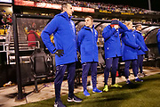 USWNT coach Vlatko Andonovski watches from the sidelines in his coaching debut at an international friendly women's soccer match between USA and Sweden, Thursday, Nov. 7, 2019, in Columbus, Ohio. USA defeated Sweden 3-2  (Jason Whitman/Image of Sport)