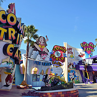Toon Lagoon at Islands of Adventure in Orlando, Florida <br />