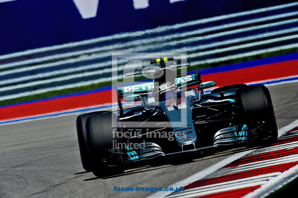 Valtteri Bottas of Mercedes AMG Petronas en route to winning the Russian Formula One Grand Prix at Sochi Autodrom, Sochi, Russia.<br /> Picture by EXPA Pictures/Focus Images Ltd 07814482222<br /> 30/04/2017<br /> *** UK & IRELAND ONLY ***<br /> <br /> EXPA-EIB-170430-0335.jpg