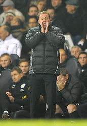 21.11.2011, White Hart Lane Stadion, London, ENG, PL, Tottenham Hotspur vs Aston Villa, 12. Spieltag, im Bild Tottenham Hotspur manager Harry Redknapp looks on during the football match of English premier league, 12th round, between Tottenham Hotspur and Aston Villa at White Hart Lane Stadium, London, United Kingdom on 21/11/2011. EXPA Pictures © 2011, PhotoCredit: EXPA/ Sportida/ Chris Brunskill..***** ATTENTION - OUT OF ENG, GBR, UK *****
