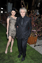 NICK RHODES and NEFER SUVIO at Gabrielle's Gala an annual fundraising evening in aid of Gabrielle's Angel Foundation for Cancer Research held at Battersea Power Station, London on 2nd May 2013.