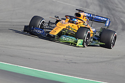 February 18, 2019 - Pamplona, Spain - Carlos Sainz (McLaren F1 Team) seen in action during the winter test days at the Circuit de Catalunya in Montmelo  (Credit Image: © Fernando Pidal/SOPA Images via ZUMA Wire)