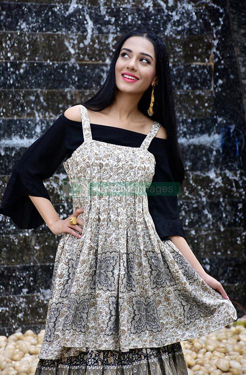 January 29, 2018 - Mumbai, India - Indian film actress Amrita Rao seen during photo shoot for the casual wear brand Flowery at Madh Island in Mumbai (Credit Image: © Azhar Khan/SOPA via ZUMA Wire)