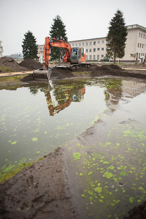 werken ploeg Turnhout, aanleg parken