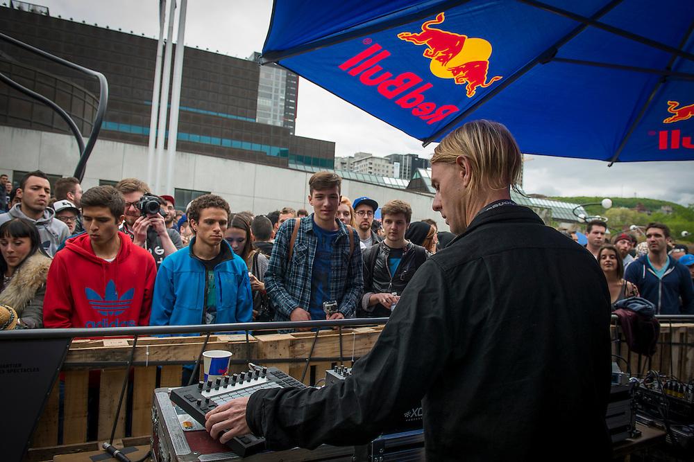 #dotUP / Richie Hawtin / ESPLANADE PLACE DES ARTS / MUTEK 2014