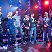 NLD/Hilversum/20180125 - Gouden RadioRing Gala 2017, Gerard Ekdom en medewerkers