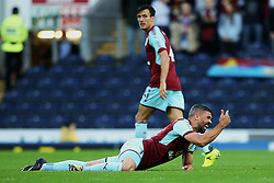 Jonathan Walters of Burnley calls for a physio after picking up an injury - Mandatory by-line: Matt McNulty/JMP - 23/08/2017 - FOOTBALL - Ewood Park - Blackburn, England - Blackburn Rovers v Burnley - Carabao Cup - Second Round