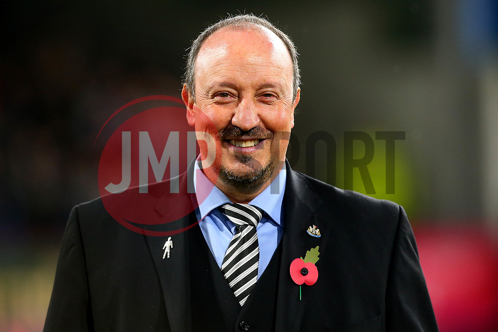 Newcastle United manager Rafa Benitez - Mandatory by-line: Robbie Stephenson/JMP - 30/10/2017 - FOOTBALL - Turf Moor - Burnley, England - Burnley v Newcastle United - Premier League